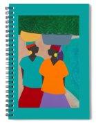 Les Femmes Spiral Notebook