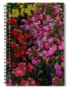 les fleurs II Spiral Notebook