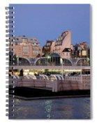Les Halles In Paris Spiral Notebook