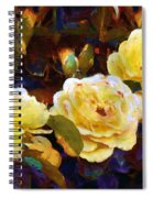 Les Roses Sauvages Spiral Notebook