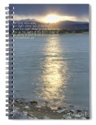 Let Light Shine Out Of Darkness Spiral Notebook