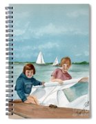 Let's Go Sailing  Spiral Notebook