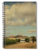 Let's Run Through The Orchard Spiral Notebook