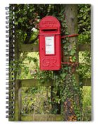 Letterbox In A Hedge Spiral Notebook
