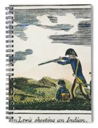 Lewis & Clark: Native American, 1811 Spiral Notebook