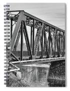 Lewiston-auburn Railroad Bridge Spiral Notebook