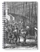 Liberating Slaves, 1864 Spiral Notebook