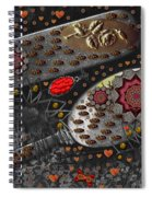 Liberation And Cookies Spiral Notebook