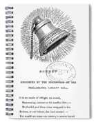 Liberty Bell, 1839 Spiral Notebook