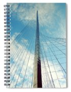 Liberty Pole Spiral Notebook
