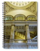 Library 4 Spiral Notebook