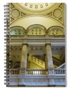 Library 6 Spiral Notebook