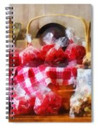 Licorice And Chocolate Covered Peanuts Spiral Notebook