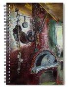 Greek Furno  Spiral Notebook