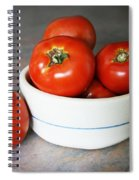 Life Is Not A Bowl Of Cherries - Life Is A Bowl Of Tomatoes Spiral Notebook