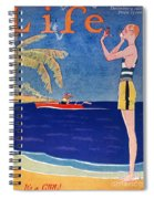 Life: Its A Girl, 1926 Spiral Notebook