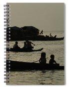 Life On Lake Tonel Sap Spiral Notebook