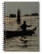 Life On Lake Tonle Sap 7 Spiral Notebook