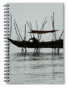 Life On Lake Tonle Sap  Spiral Notebook