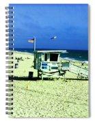 Lifeguard Shack Spiral Notebook