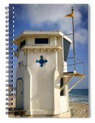 Lifeguard Tower Spiral Notebook