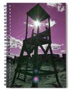 Lifeguard Tower II Spiral Notebook
