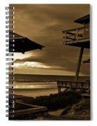World War II Coastal Watchtower Spiral Notebook