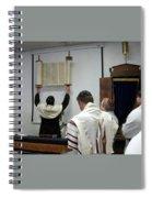 Lift Up The Torah Spiral Notebook