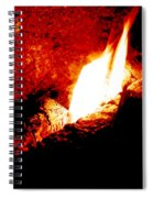Light And Heat Spiral Notebook