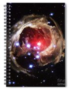 Light Echoes From Exploding Star Spiral Notebook