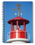 Light House On Coney Island Spiral Notebook