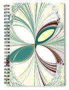 Light In The Darkness White Spiral Notebook