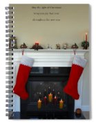 Light Of Christmas Spiral Notebook