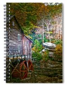 Light On The Mill Spiral Notebook