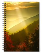Light On The Moutain Spiral Notebook