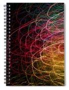 Light Painting 6 Spiral Notebook