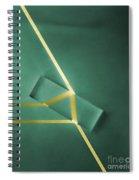 Light Refraction Spiral Notebook