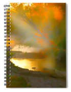 Light Up The Creek Spiral Notebook