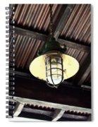 Light With Wireguard Spiral Notebook