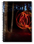 Light Writing In Woods Spiral Notebook