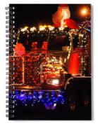 Lighted Cement Truck Spiral Notebook