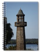 Lighthouse At Lake Chautauqua Spiral Notebook