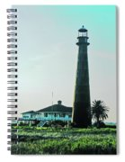 Lighthouse Galveston Spiral Notebook