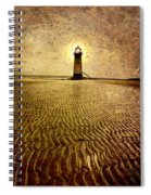 Lighthouse Grunge Spiral Notebook