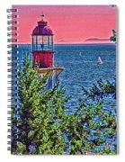 Lighthouse Hdr Spiral Notebook