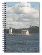 Lighthouse Island Spiral Notebook