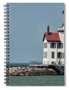 Lighthouse Ohio Spiral Notebook