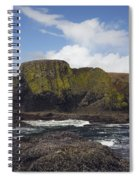 Lighthouse On Coastal Cliff Spiral Notebook
