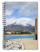 Lighthouse On Costa Del Sol In Spain Spiral Notebook
