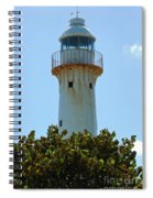Lighthouse On Grand Turk 2 Spiral Notebook